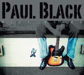 Blue Words CD - Paul Black